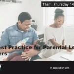 New Best Practice for Parental Leave Returners –  14/10/2021