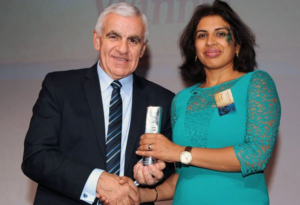 Diversity champion awarded for powerful work