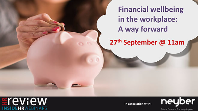 Financial wellbeing in the workplace: A way forward – 27/09/18