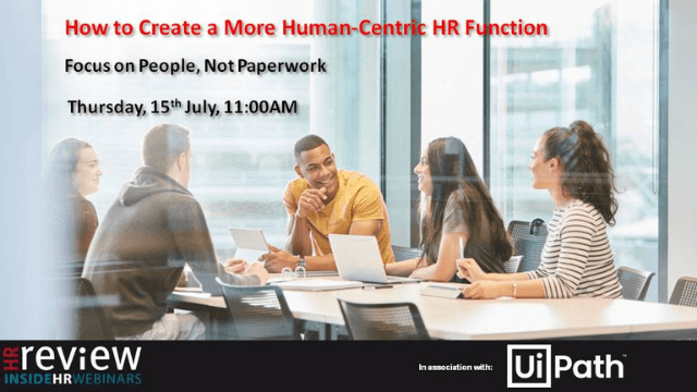How to Create a More Human-Centric HR Function – 15/07/2021