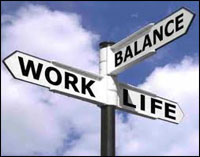 Work-life balance not affected by hours or pay
