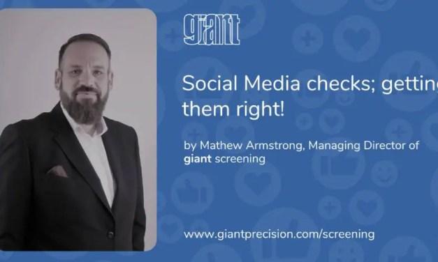 Matthew Armstrong: Social Media Checks; Getting Them Right