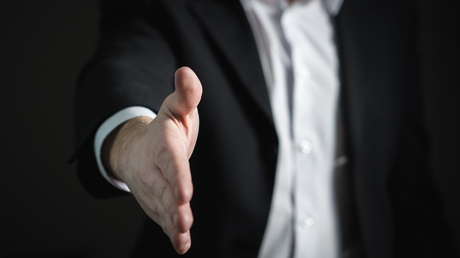 Will COVID-19 stop handshakes before interviews entirely?