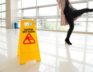 Over a quarter of injuries take place in the office