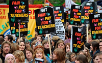 Teachers set to strike as pensions disputes are still not settled