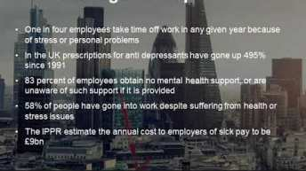 Wellbeing and burnout New research shows it's real and immediate