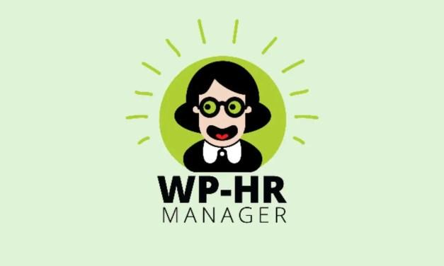 WP-HR Manager – free HR plugin for WordPress