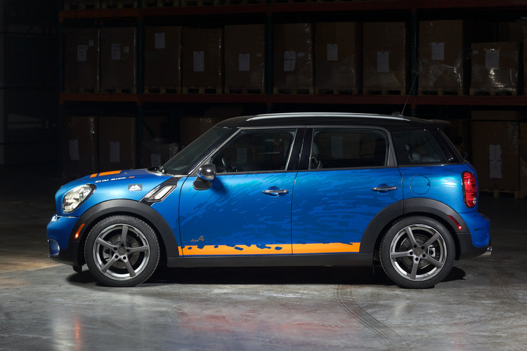 HR Springs 2011 MINI Countryman ALL4  Projects  HR Special Springs LP
