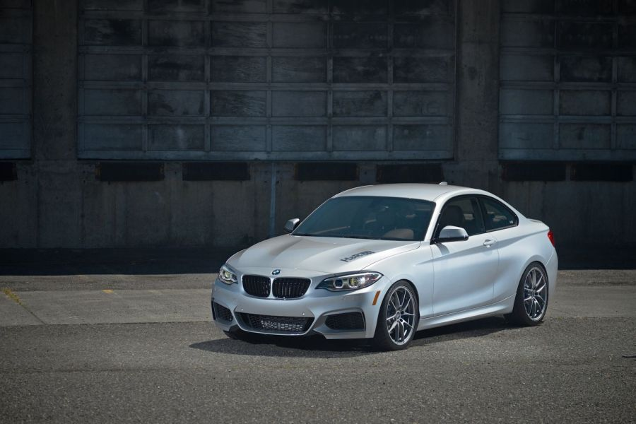 H&R 2014 BMW 228i M Sport Coupe | H&R Special Springs, LP.