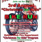"3rd Annual ""Christmas for Kids"" Bike Run"