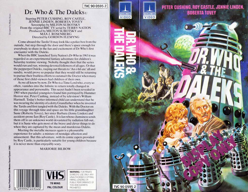 OLG Doctor Who Pages Memories Collections and