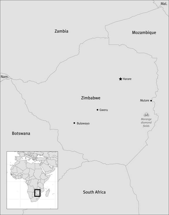 Human Rights Abuses in the Marange Diamond Fields of