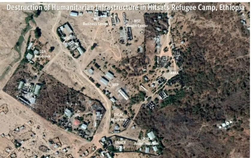 Aerial satellite graphic
