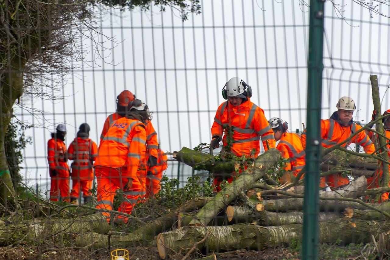 Stop HS2 - Jones Hill Wood