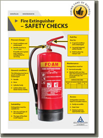 Fire Extinguisher Safety Checks  Health and Safety Authority
