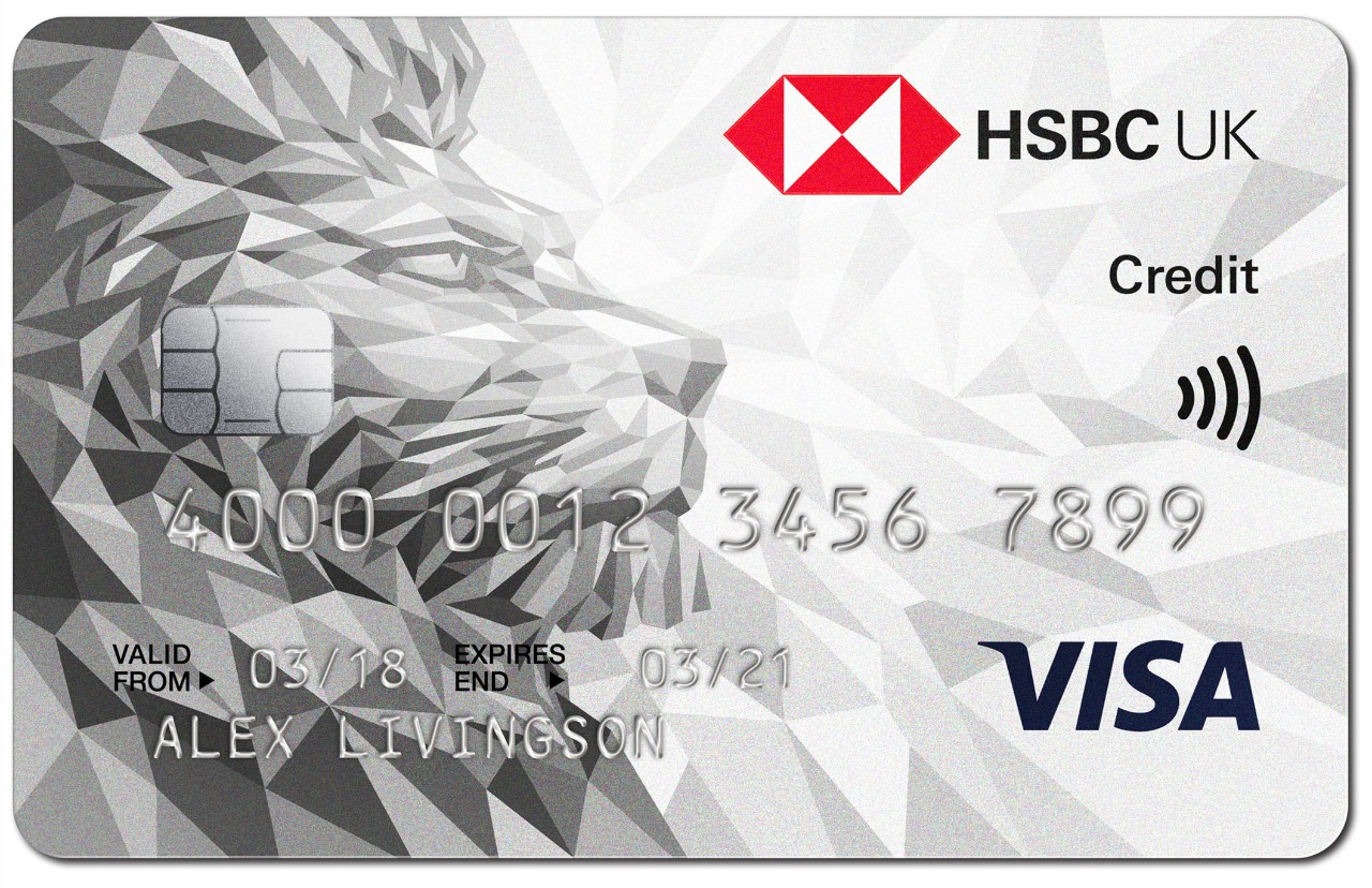 hsbc credit cards credit