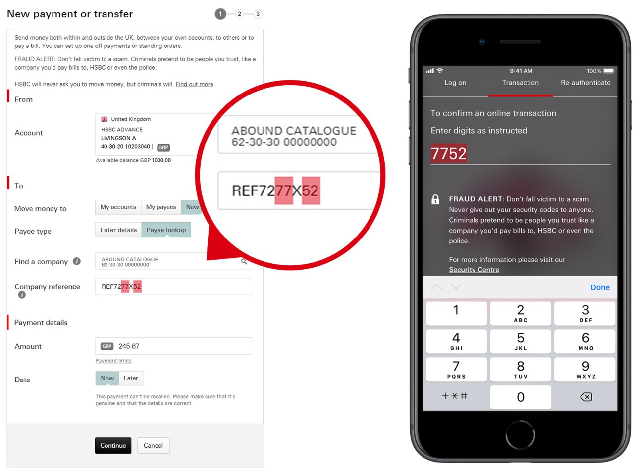 Making Payments | Contact and Support - HSBC UK