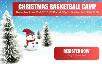 Only 5 Spots Left – Christmas Camp Nearing Capacity!