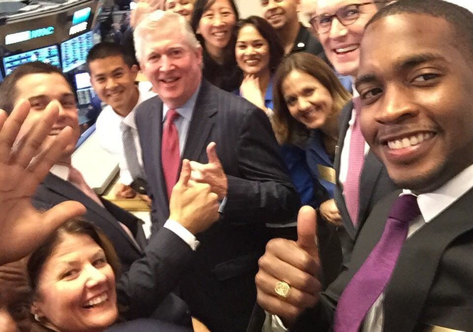 Coach Cliff Opens New York Stock Exchange!