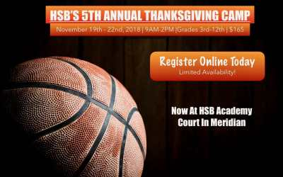 Thanksgiving Camp Registration Now Open!