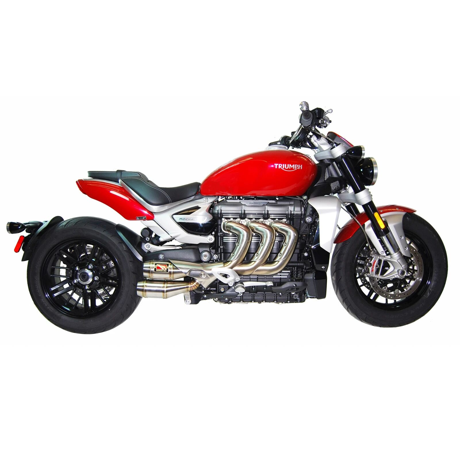 competition werkes triumph rocket 3 slip on exhaust system 2020 up