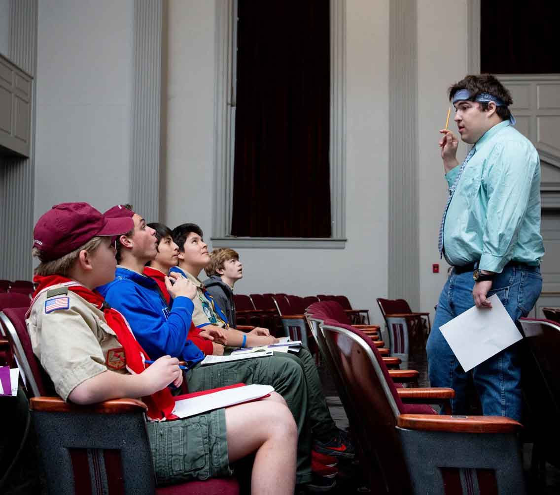Scouts Gather On The Hill For Learning And Fun
