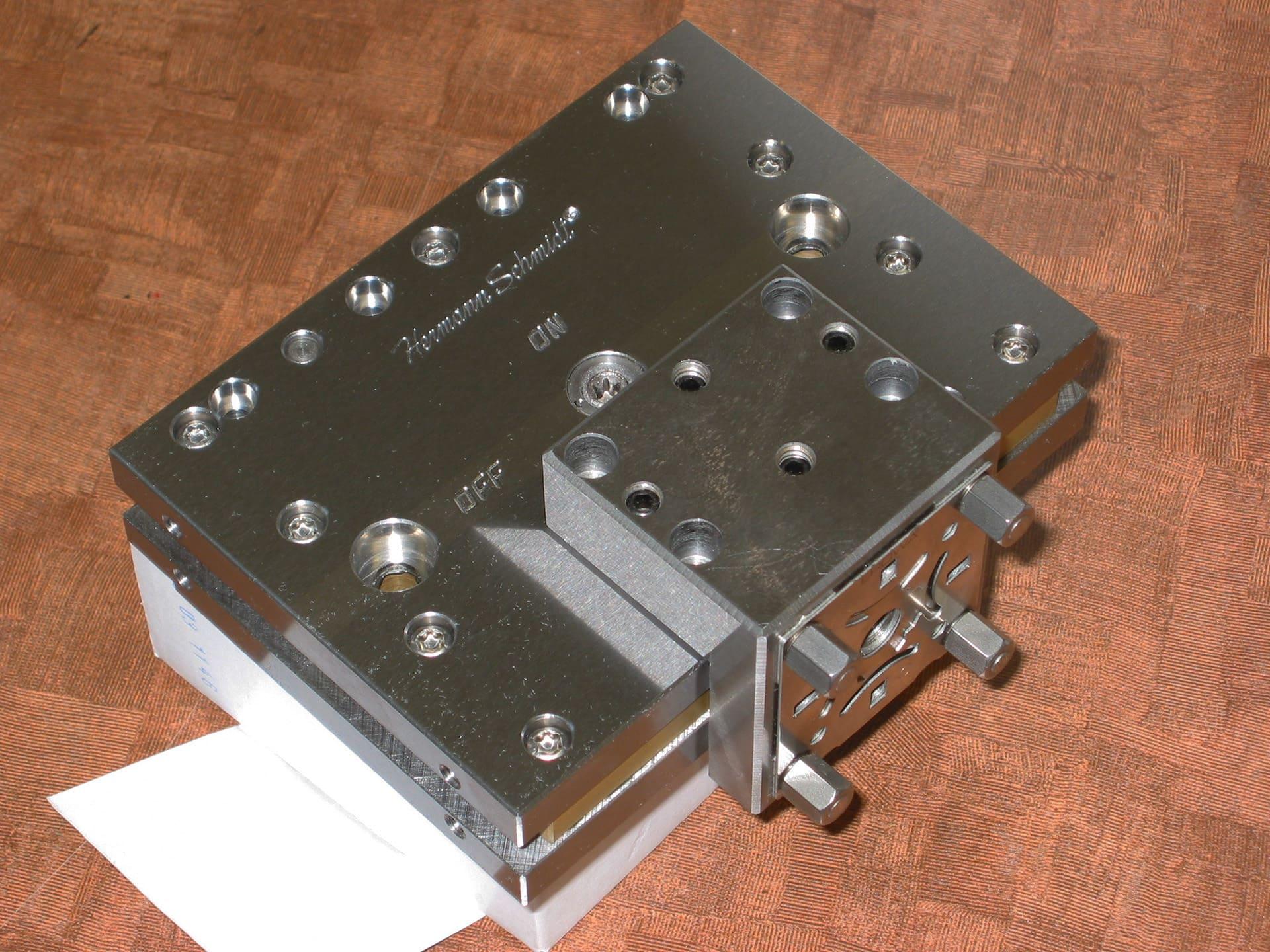 Wire EDM Magnet on Erowa Cp50  Hermann Schmidt Precision Workholding