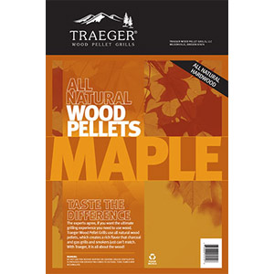 Traeger® Maple BBQ Pellets