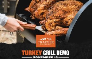 Traeger Turkey Demo Day