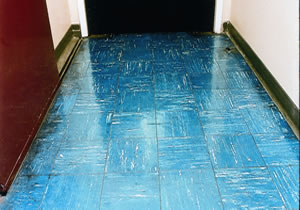 Asbestos  Floor tiles textiles and composites