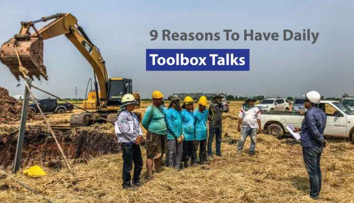 9 Reasons To Have Daily Toolbox Talks