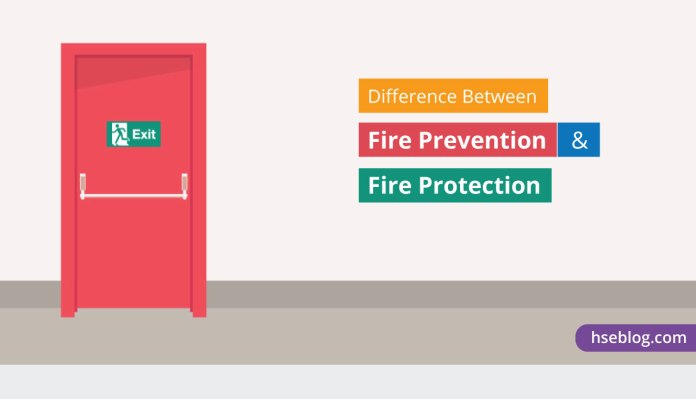 The Difference Between Fire Prevention and Fire Protection