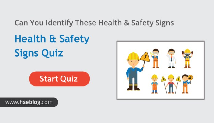 Can You Identify These Health & Safety Signs