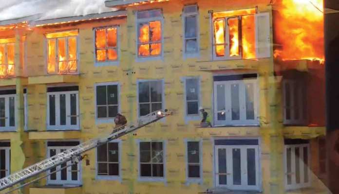 The Construction Worker Rescued From Massive Apartment Fire