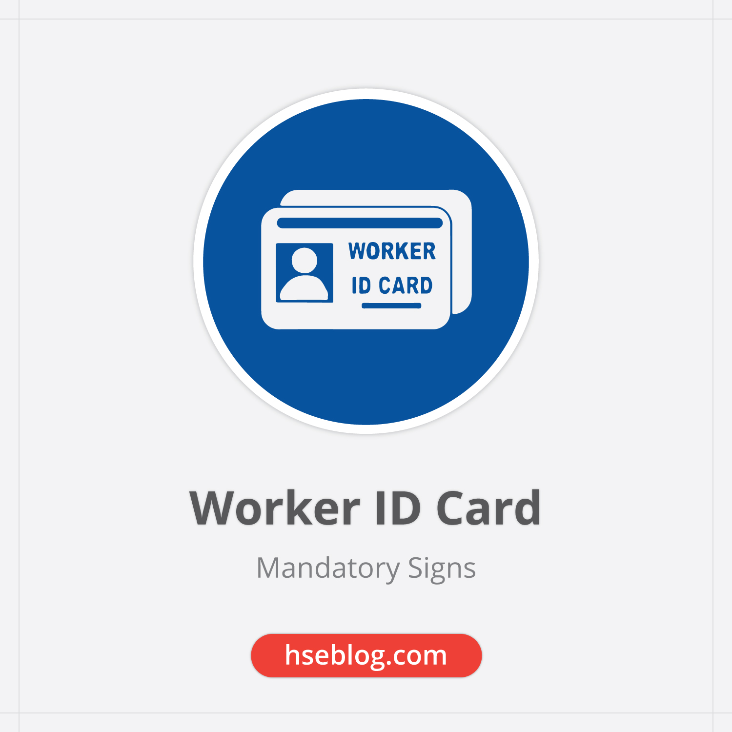 Worker ID Card