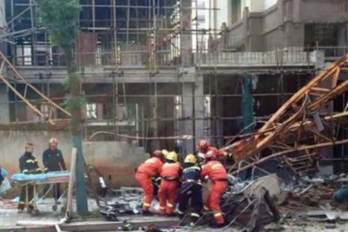 Fatal Tower Crane Collapse in China