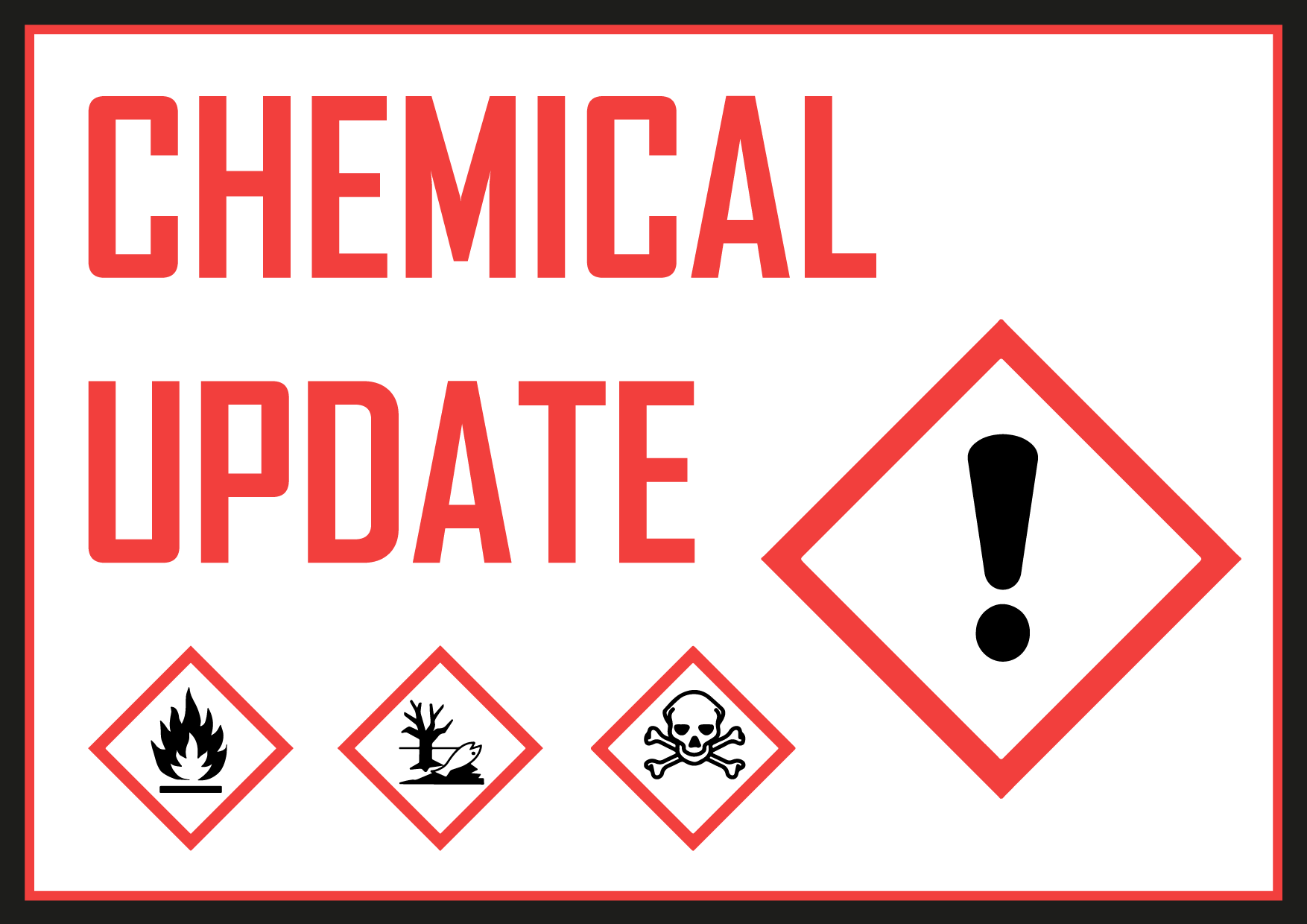 chemical update on basis