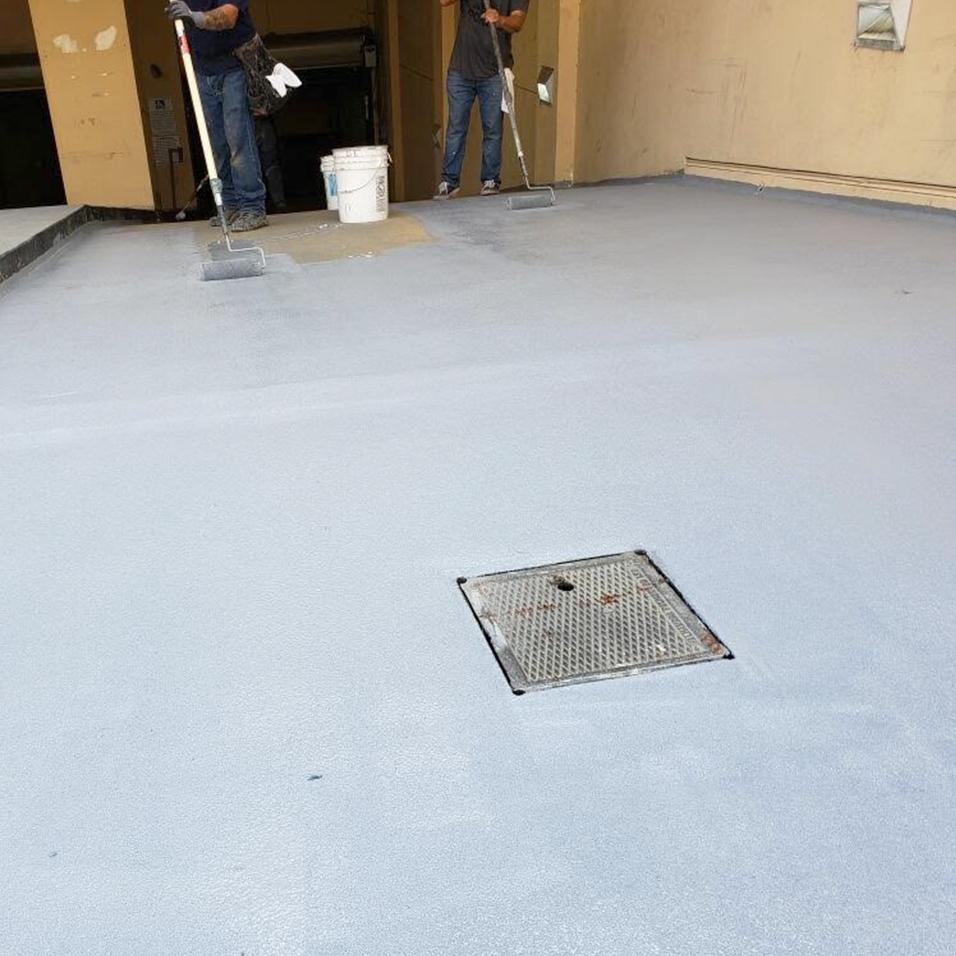 Waterproofing is a meticulous process.
