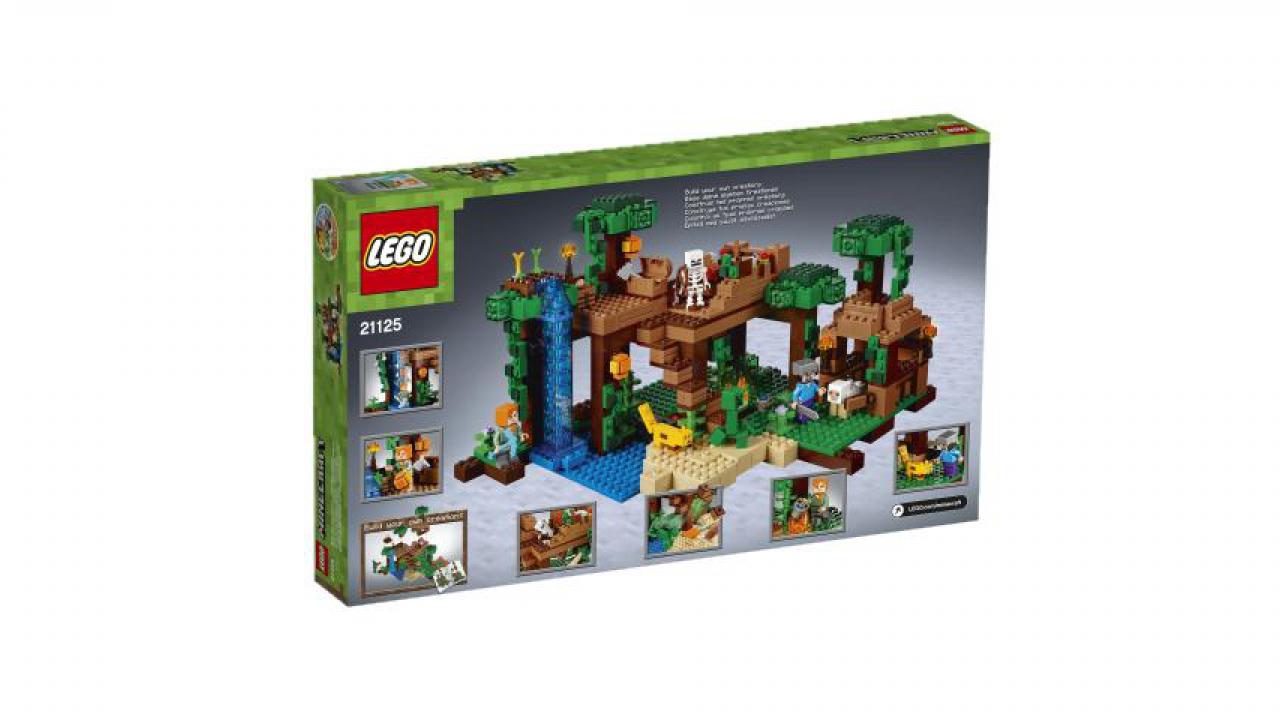 Das DschungelBaumhaus LEGO Minecraft  Kidsahoich