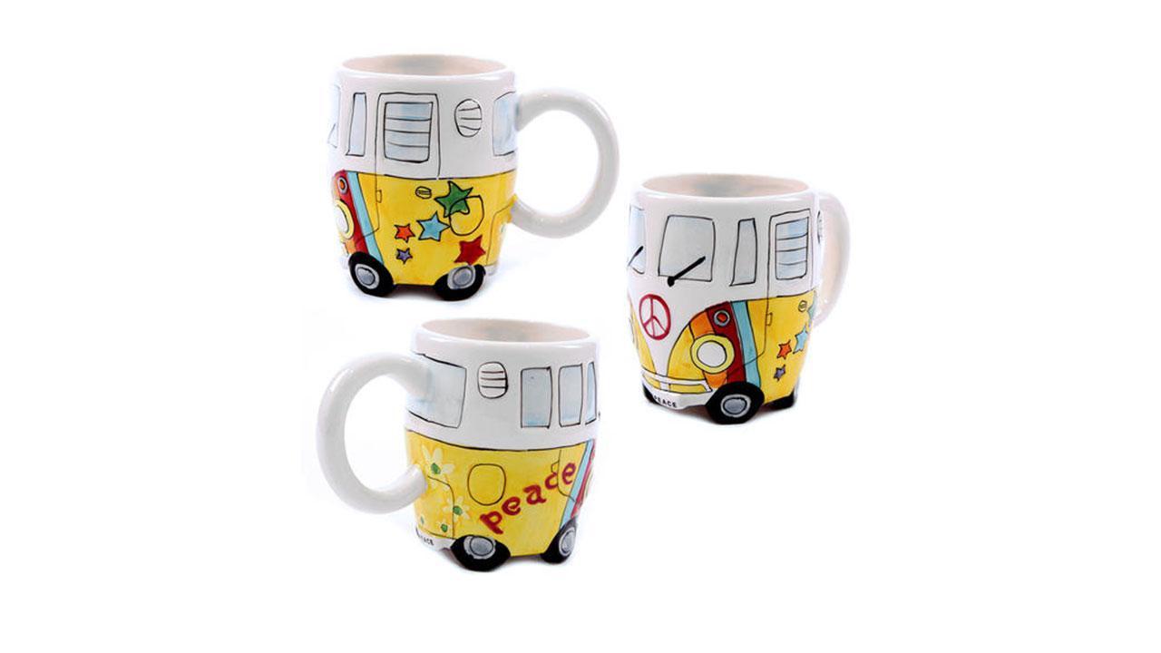 Camper Bus Tasse  Peace