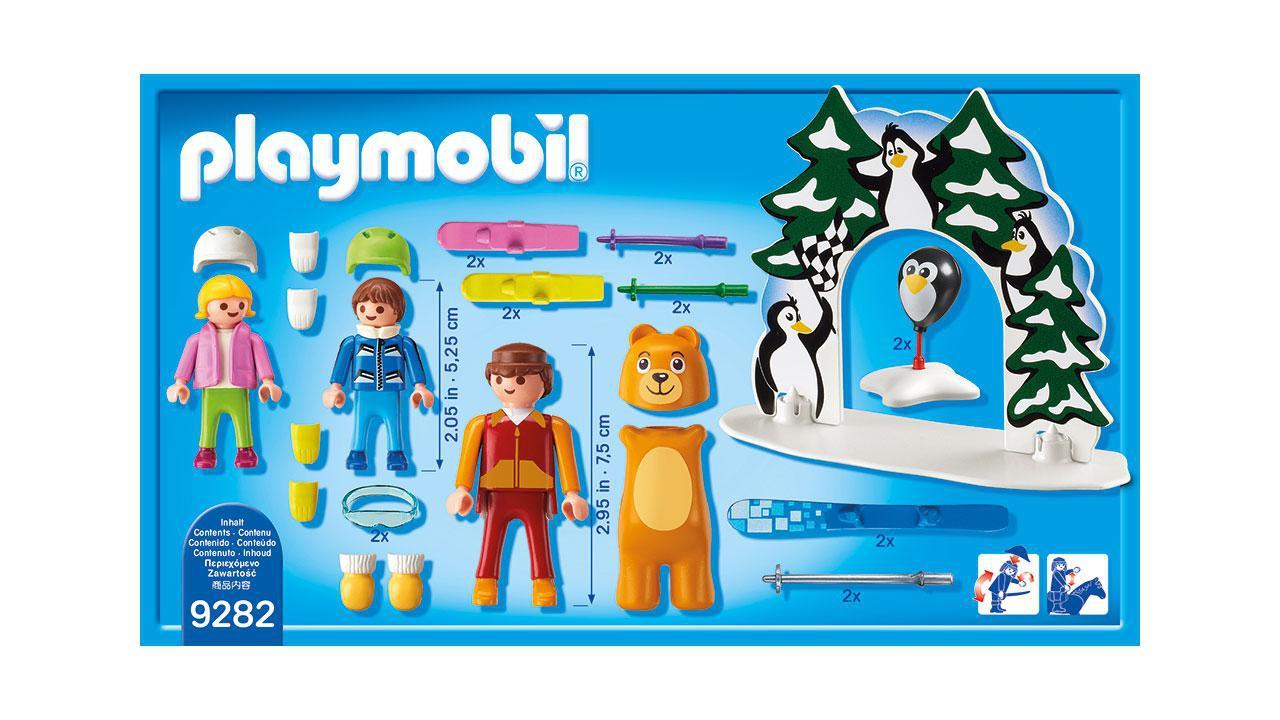 Moniteur de ski avec enfants  Playmobil Playmobil   youpikidsch