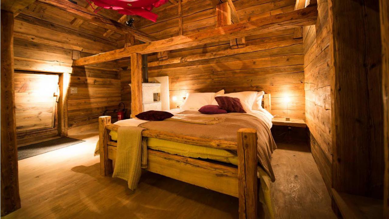 Sjour dans un chalet romantique Pour 2 personnes avec  Cadeaux24