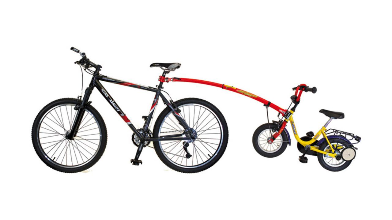 Repco Sport Tag Along Bike Trailer Instructions
