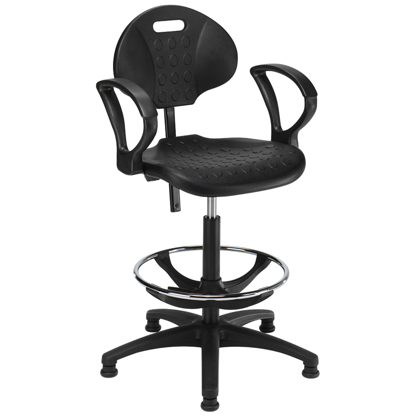 office chair upholstery repair leather living room chairs industrial draugtman ring arms ind6a hsi