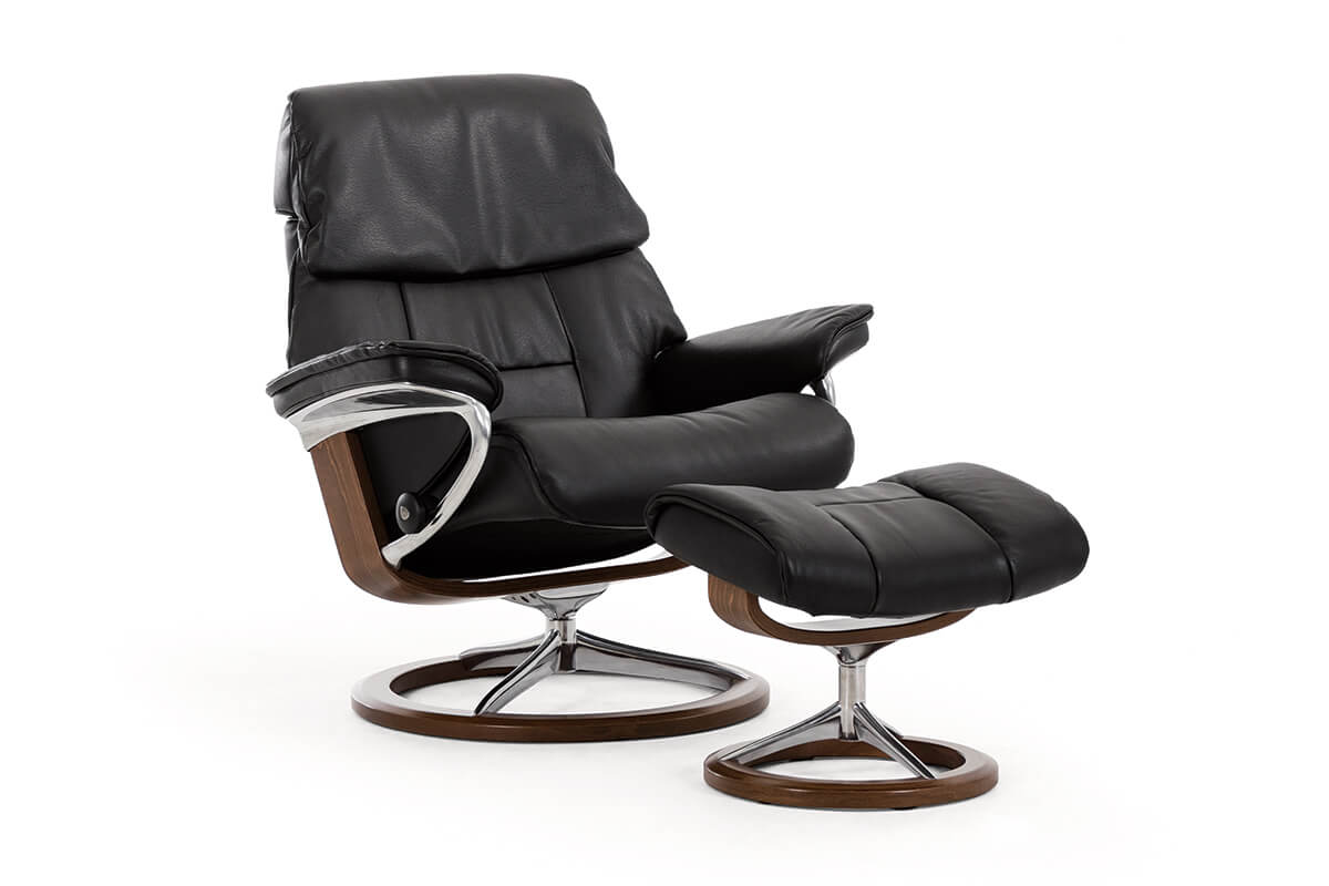 Stressless Ruby Signature Recliner with Neck  Lumbar