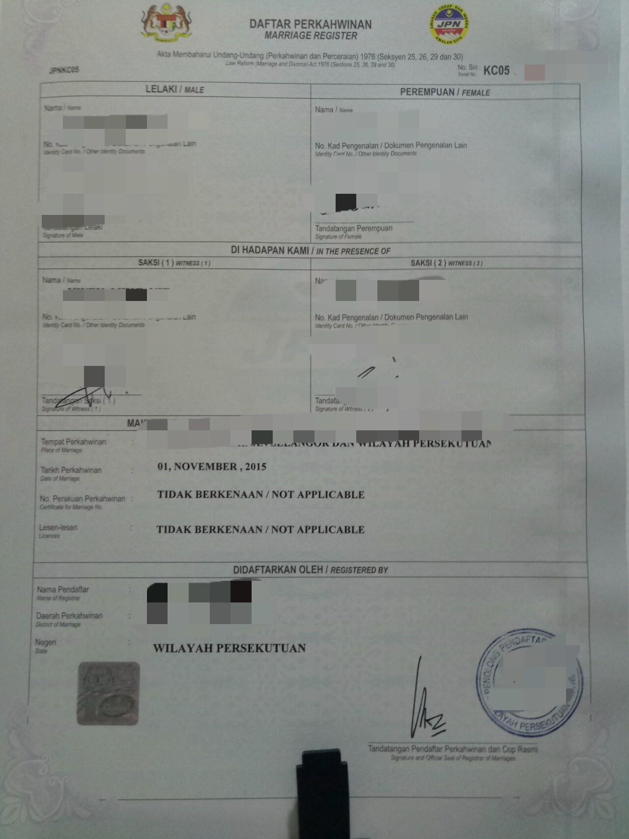 Share Certificate Sample Malaysia Choice Image