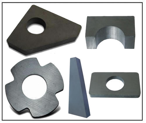 ferrite customized magnets