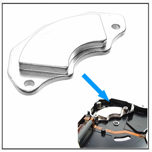 Neodymium Magnets from Hard Drives on Brackets HDD