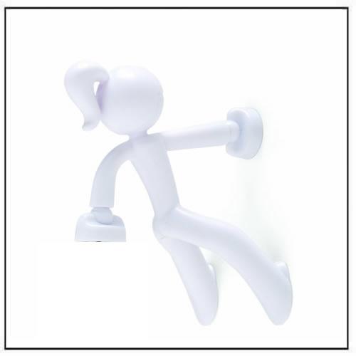 Key Petite   Key Pete Girl Strong Magnetic Key Holder   White