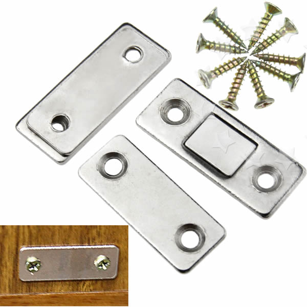 Ultra Thin Door Catch Latch Furniture Magnetic Cabinet Cupboard